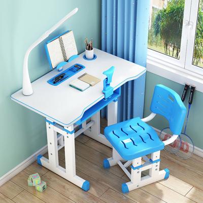 兒童學習桌可升降家用書桌寫字桌椅套裝小學生書桌簡約課桌椅組合