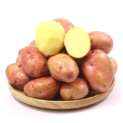 果淳樂 云南紅皮迷你小土豆5斤帶箱 現挖馬鈴薯 農家自種 新鮮蔬菜