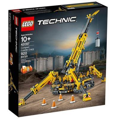 LEGO乐高 Technic机械组系列 精巧型履带起重机42097