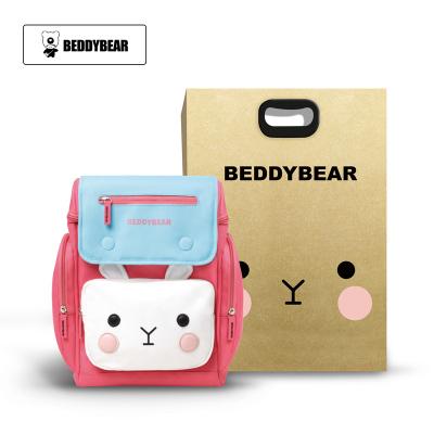 韓版BEDDYBEAR杯具熊兒童幼兒園書包小學生男童女童小孩3-5-8歲雙肩包背包杯具熊皮皮粉書包防水面料