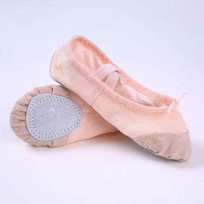 La MaxZa成人帆布软底舞蹈练功鞋瑜伽芭蕾舞鞋儿童猫爪鞋舞蹈鞋女