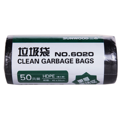 三木(SUNWOOD)6020 垃圾袋 (1卷50只)/件(單位:件)