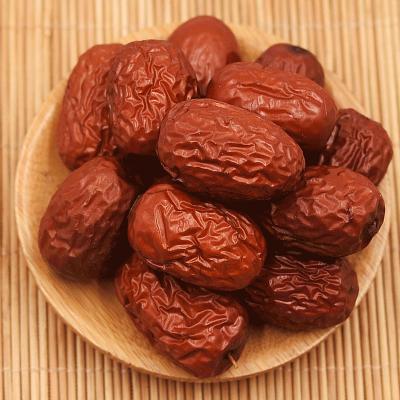 澤群 大棗 紅棗特選 500g/袋 即食零食可煲湯免洗干貨