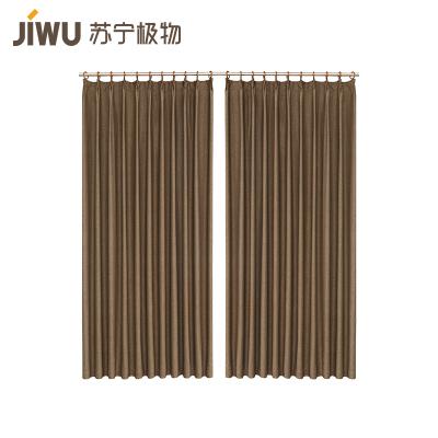 JIWU брэндийн хөшиг гүн бор 1.75m өргөн ×2.6m өндөр