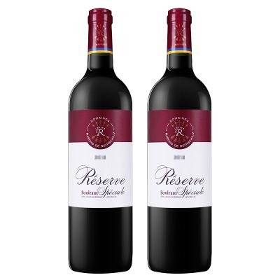 2瓶裝|拉菲(LAFITE)珍藏波爾多干紅葡萄酒 750ml 法國進口