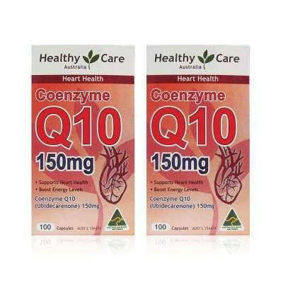 【2瓶】澳洲直郵Healthy Care納世凱爾輔酶Q10 150mg100粒 HC輔酶Q10 300