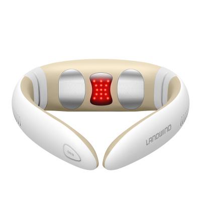 藍韻 紅光磁療頸椎按摩儀智能熱敷舒緩頸椎按摩器MN112