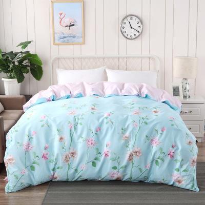 全棉被套純棉簡約床品被罩床單學生宿舍床上用品 純棉單被套悅顏 純棉單被套155*210