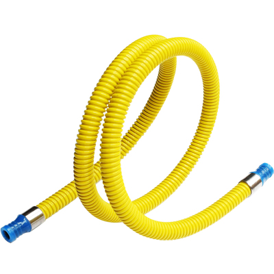 今安 家用液化氣管燃氣灶煤氣灶管子熱水器金屬連接管天然氣液化氣灶具軟管 1.5米 雙插口