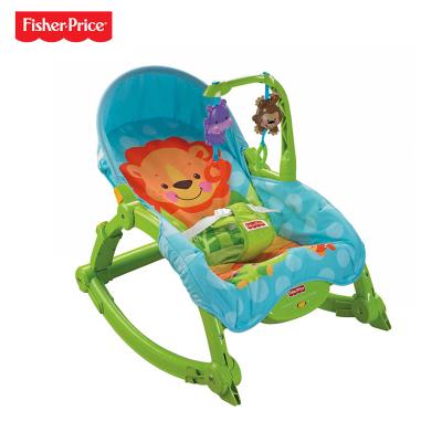 Fisher Price费雪可爱动物多功能轻便摇椅 W2811