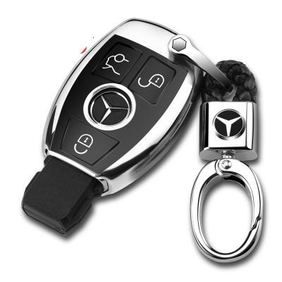傳楓 汽車鑰匙包鑰匙扣鑰匙套奔馳A級B級C級E級S級CLA GLC GLK GLE GLA