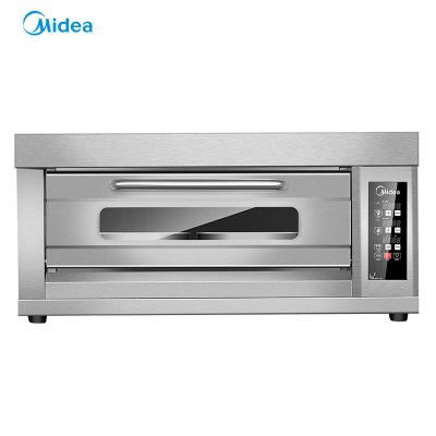 Midea/美的商用烤箱 一层两盘蛋糕西点面包层炉烤箱专业电烤箱MK-C1P2A