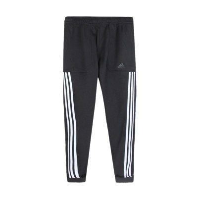 阿迪达斯(adidas)秋季新款男跑步训练小脚收腿针织长裤 DM5245