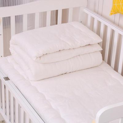 定做婴儿童床上用品新疆长绒棉花加厚保暖被子褥芯幼儿园床垫被应学乐 1.5斤棉花 110*60