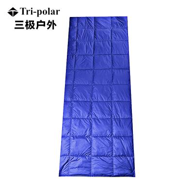 三极户外(Tripolar) TP2909 抱枕式睡袋户外旅行成人羽绒被室内露营保暖便携式信封羽绒睡袋