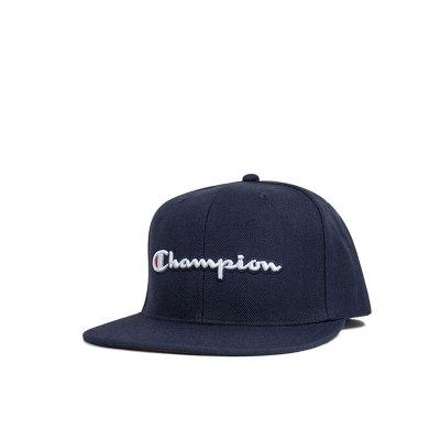 Champion冠軍潮牌life線草寫logo純色男女通用平檐棒球帽帽子H0805