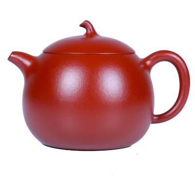 茄段壺紫砂壺純手工宜興紫砂壺套裝純手工朱泥大紅袍西施茶壺茶具