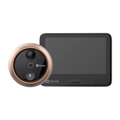 螢石DP1S智能貓眼攝像頭家用可視門鈴防盜門手機遠程監控 DP1S