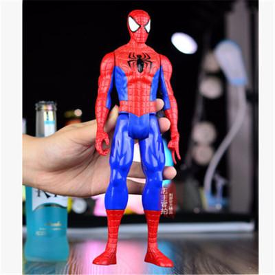 智扣复仇者联盟超凡蜘蛛侠玩具人偶可动模型