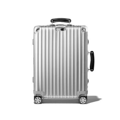 【直营】RIMOWA日默瓦Classic系列铝镁合金金属金属拉杆箱行李箱旅行箱登机箱