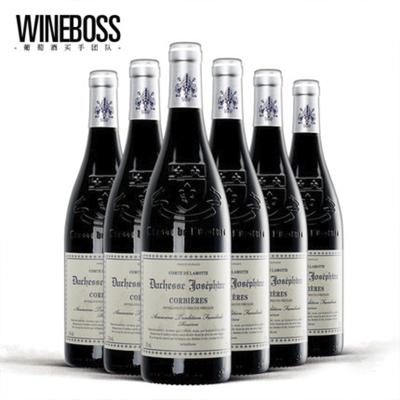 法国AOP红酒干红葡萄酒 原瓶进口红酒 原装进口葡萄酒 整箱6支装