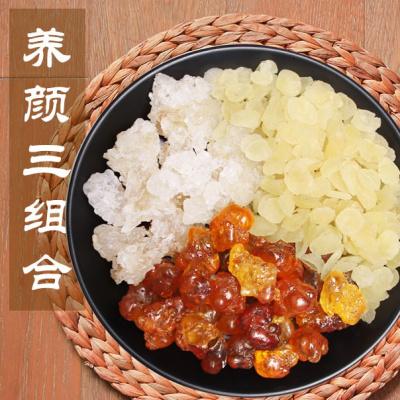 【青藏高原】桃胶皂角米雪燕三组合食用一级天然野生不是特级500g