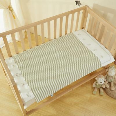 良良 婴儿隔尿垫 春秋麻棉加加大号初生儿宝宝可洗尿垫吸湿透气防水(可当床单)