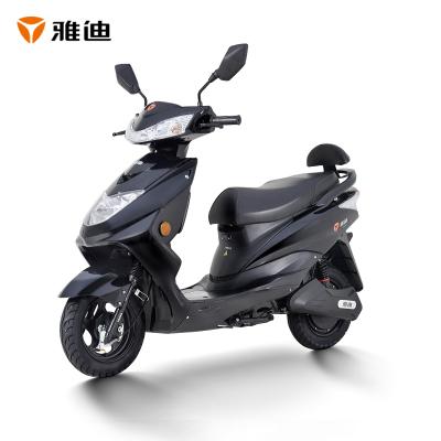 雅迪電動車豪戰精致版電瓶車成人男女代步車電動輕便摩托車