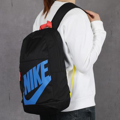 Nike耐克雙肩包男包女包電腦包運動包兒童書包旅行包背包BA6030 BA6030-015/兒童款/主圖款 參照專柜實物