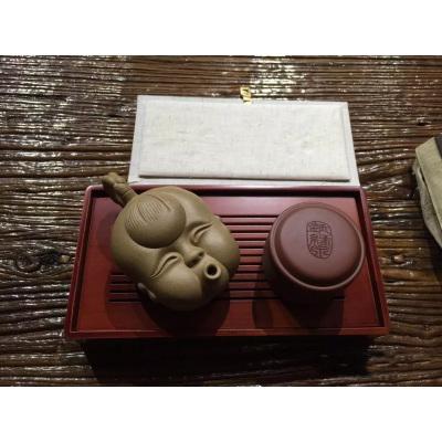 钰福娃(紫砂娃娃壶男款)·收藏版 限量出品