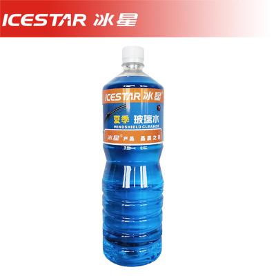 冰星(ICESTAR)玻璃水1.5L夏季普水紙箱不帶拎手0度 1瓶裝