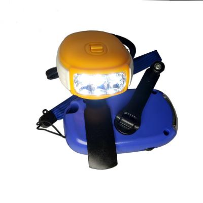 车蜜蜂风行户外自驾照明 手摇发电强光手电筒充电 家用照明灯LED迷你单只装其他0.5小时