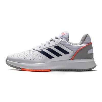 阿迪达斯男鞋网球鞋COURTSMASH实战训练运动鞋EG4375