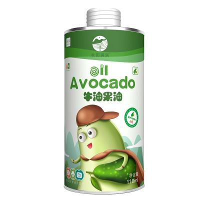 秋田滿滿 食用油 牛油果油110ml 墨西哥進口原油 寶寶孕婦食用無添加 兒童有機輔食油
