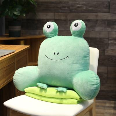 VIERUODIS办公室座椅靠枕腰靠腰垫卡通靠垫椅子靠背垫护腰孕妇沙发上班抱枕