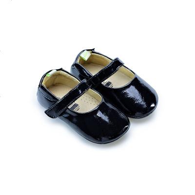 HOTGAS女宝宝学步鞋子春秋小童皮鞋防滑软底1-2周岁婴儿公主鞋