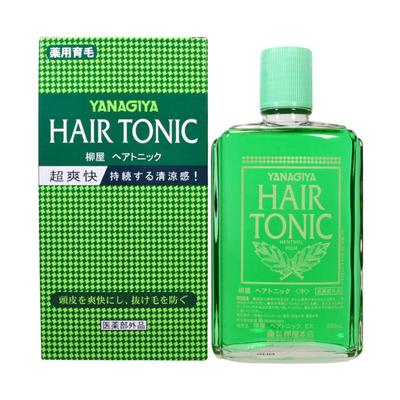 YANAGIYA 柳屋 发根营养液 经典薄荷味 240ml 改善脱发