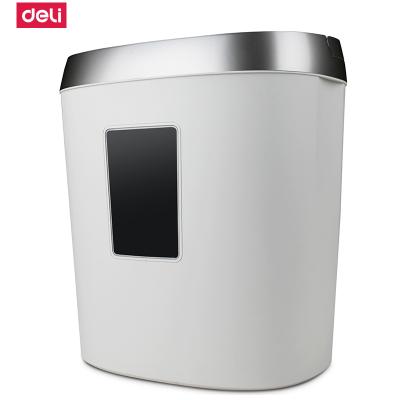 得力deli9929 碎紙機 大功率 3級保密條狀電動辦公17L大容量 氮化鋼刀