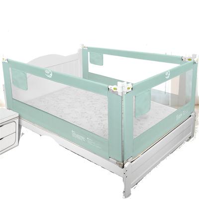 【發順豐】KDE嬰兒童床護欄寶寶床邊圍欄大床欄桿防摔掉擋板通用床圍1.8米垂直起降加高芭比粉