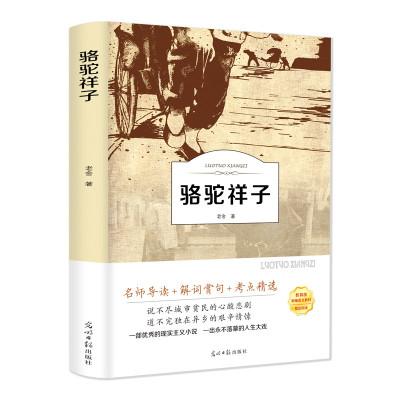 駱駝祥子原著正版老舍的書籍正版全集現當代文學小說作品集散文集 駱駝的樣子正版書 初中生