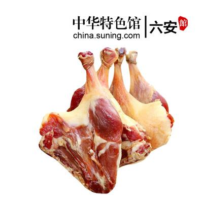【買7送1】牧鵝風干咸香臘鴨腿1只/約200g 安徽特產咸鴨腿板鴨手工腌制咸肉臘味