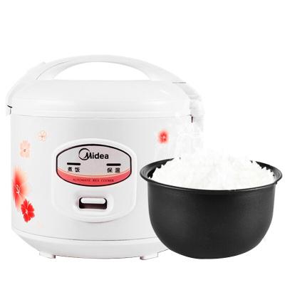 Midea/美的 YJ408J機械式電飯煲4L容量家用3-4-6人電飯鍋宿舍煮飯
