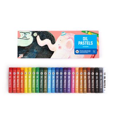 Joan Miro美樂童年 兒童油畫棒彩色畫筆套裝安全無毒可水洗寶寶油畫筆涂鴉筆蠟筆幼兒園 炫彩油畫棒25色 創意玩具