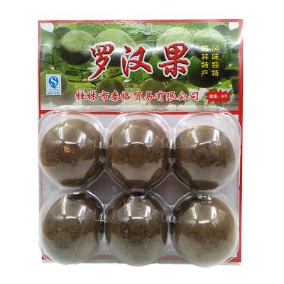 泰格 傳統羅漢果大果6枚裝 傳統脫水工藝 廣西桂林特產 花草果茶