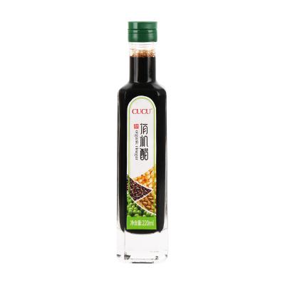 CUCU 醋 有机醋220ml 山西陈醋 固态发酵 可溯源
