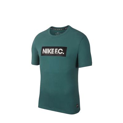 耐克男子新款舒適透氣健身跑步運動短袖休閑T恤AQ8008-010-100-362