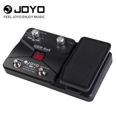 卓乐 JOYO GEMBOX电吉他综合效果器失真多功能带踏板带鼓机单块入门初学失真效果器