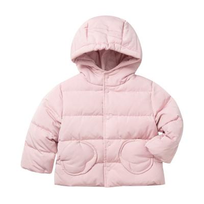 迷你巴拉巴拉嬰兒羽絨服女寶寶上衣厚2020冬裝新款連帽羽絨外套