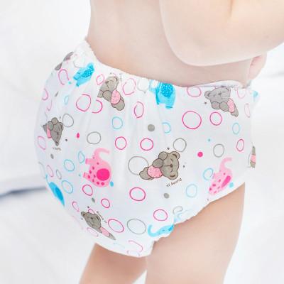 陽光菊 嬰兒尿褲純棉印花布尿褲 新生兒寶寶尿布兜 卡通花色多款