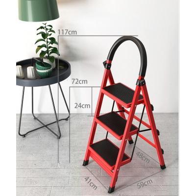精品时尚家具 合梯子人字家用折叠2米加厚装修室内小型多功能伸缩踏板人子家庭 低价疯抢 厂家直销